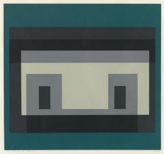 """Variant IV  (From Ten Variants) by Josef Albers"