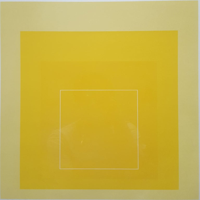 Josef Albers Abstract Print - WLS I