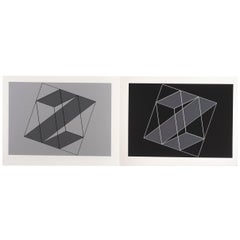 "Josef Albers ""Formulation : Articulation"" Portfolio II, Folder 16"