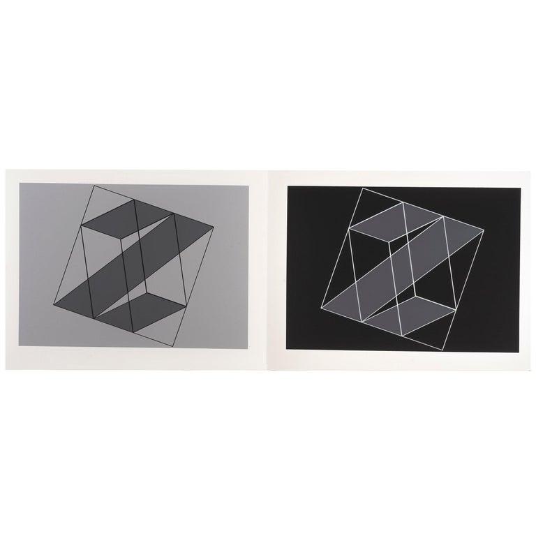 "Josef Albers ""Formulation : Articulation"" Portfolio II, Folder 16 For Sale"