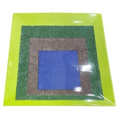 Josef Albers Study for Homage to the Square Limited Edition Ceramic Platter 1999