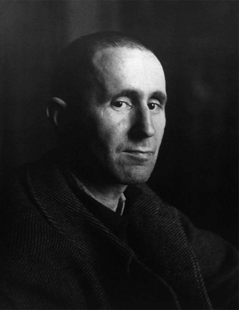 Josef Breitenbach Portrait Photograph - Portrait of Bertold Brecht