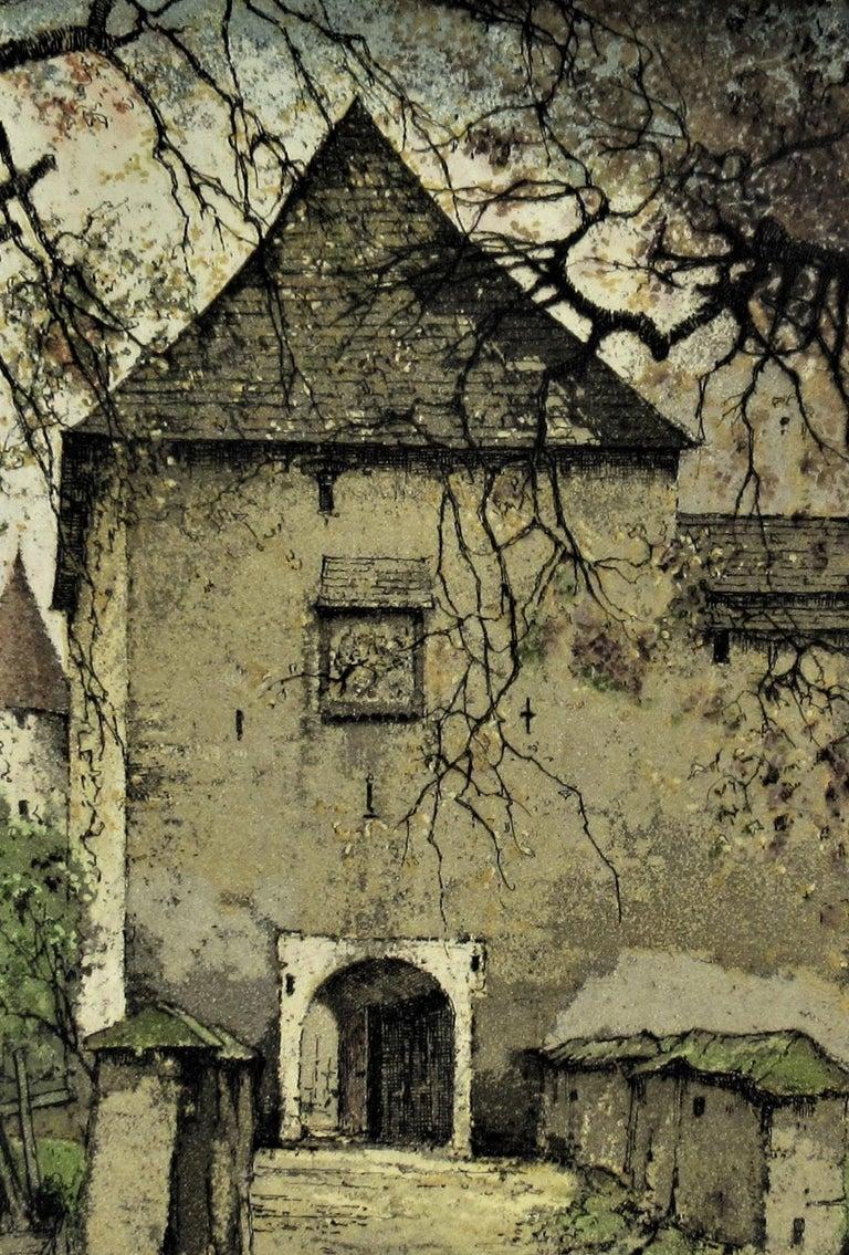 Diex, Carinthia, Austria - Realist Print by Josef Eidenberger