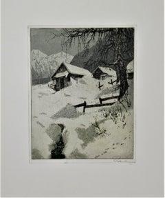 Goisern, Winter Scene