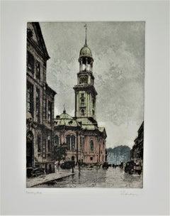 Hamburg, Michael's Church, Germany