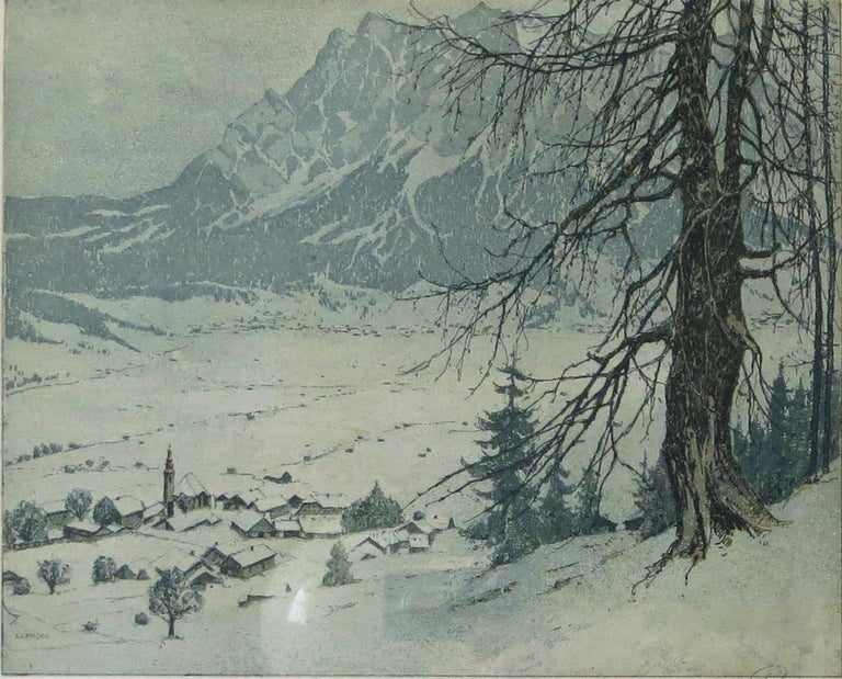 Lermoos, Austria - Print by Josef Eidenberger