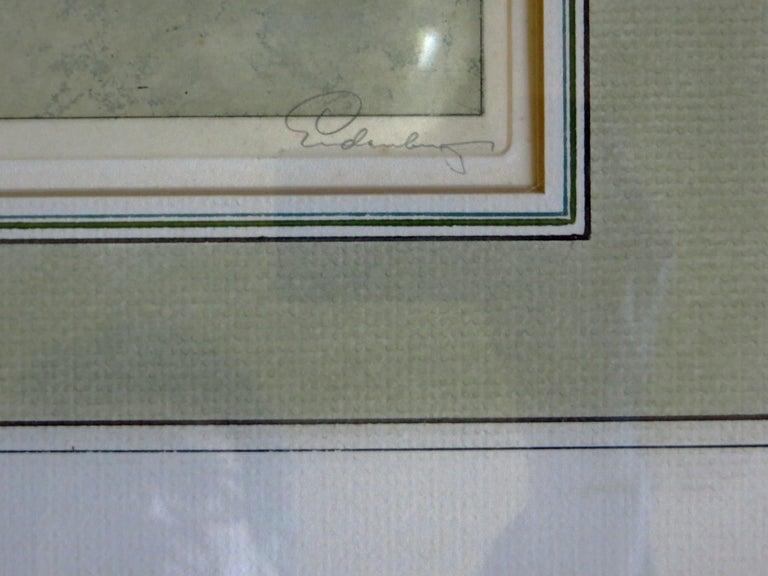 Lermoos, Austria - Realist Print by Josef Eidenberger