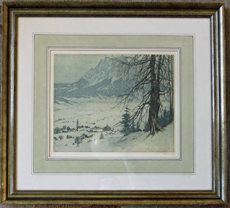 Josef Eidenberger Landscape Print - Lermoos, Austria