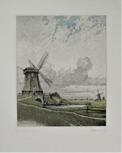 Schermerthorn Windmuhle, Holland