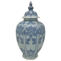 Josef Ekberg Ceramic Lidded Vase