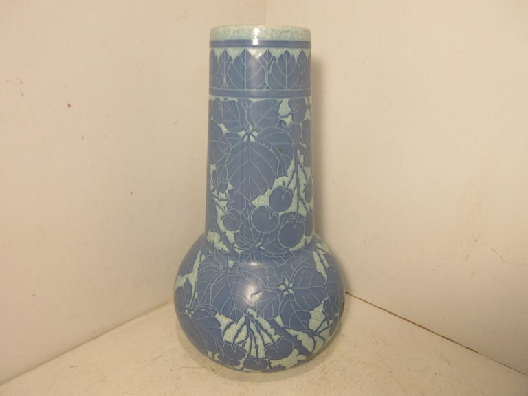 Art Nouveau Josef Ekberg Ceramic Vase For Sale