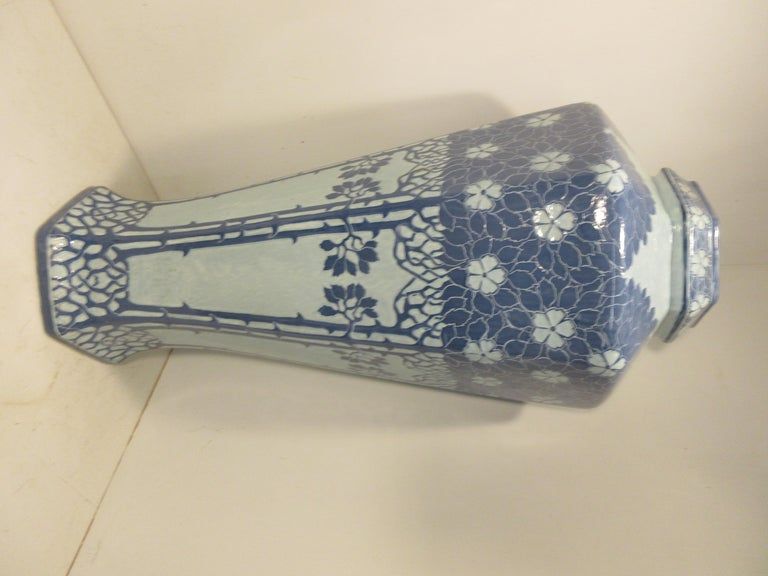 Swedish Josef Ekberg Ceramic Vase For Sale
