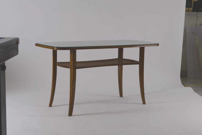 Hand-Crafted Josef Frank and Svensk Tenn Attributed Table Original Mid-Century Modern, 1940 For Sale