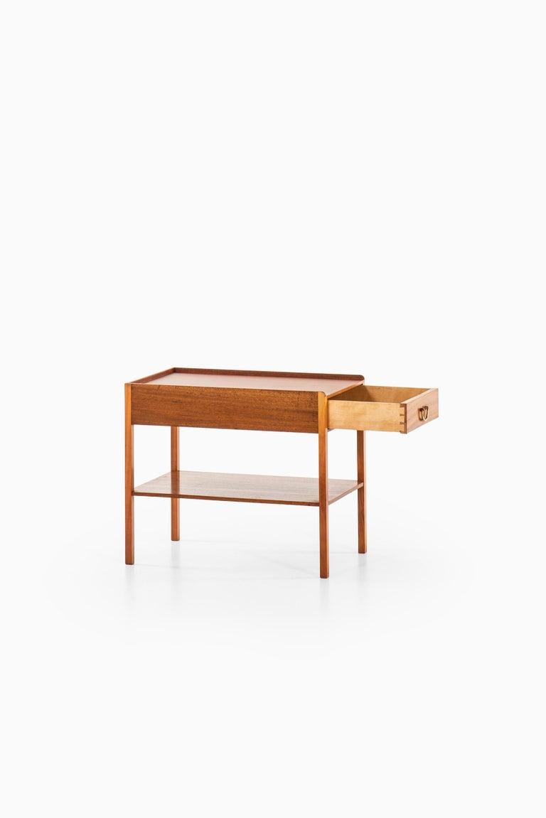 Swedish Josef Frank Bedside / Side Table Produced by Svenskt Tenn in Sweden For Sale