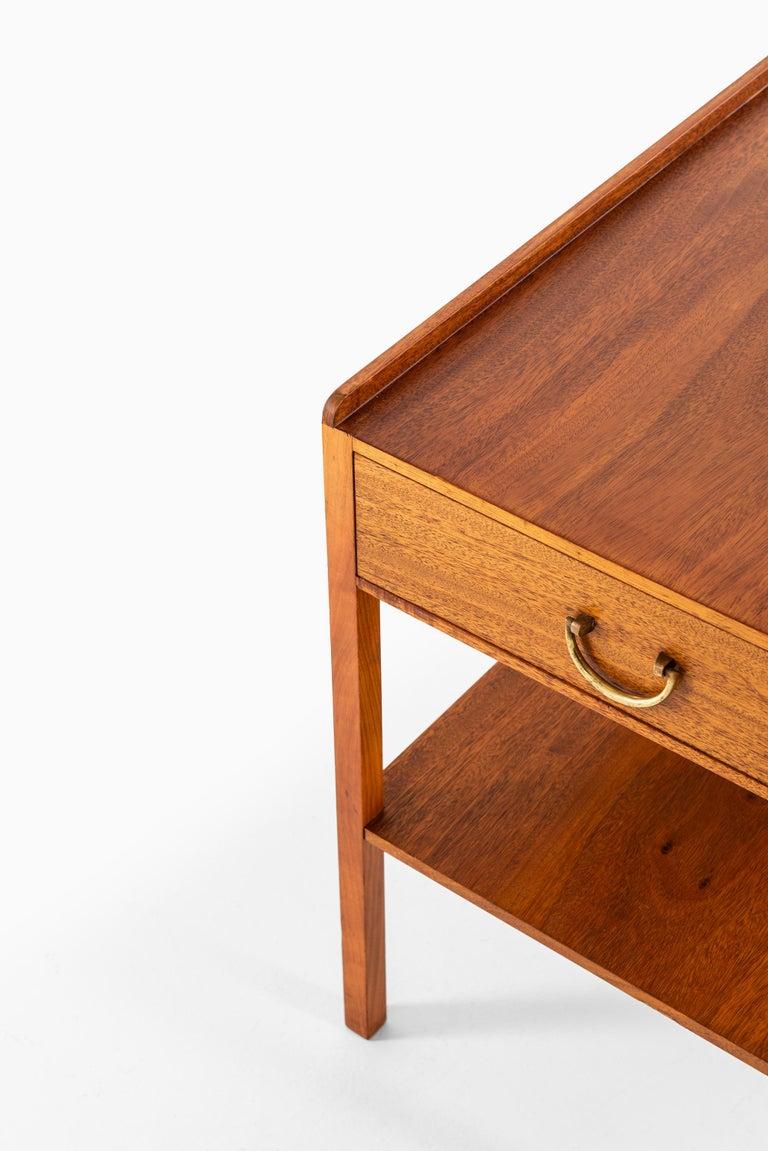 Mid-20th Century Josef Frank Bedside / Side Table Produced by Svenskt Tenn in Sweden For Sale