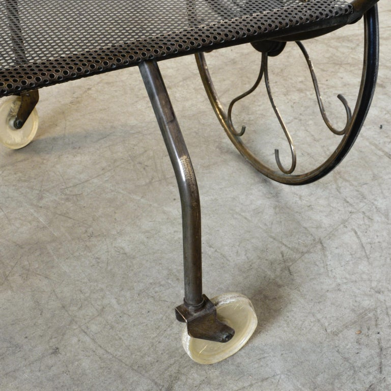 Josef Frank Brass Svenskt Tenn Tea Cart For Sale 4