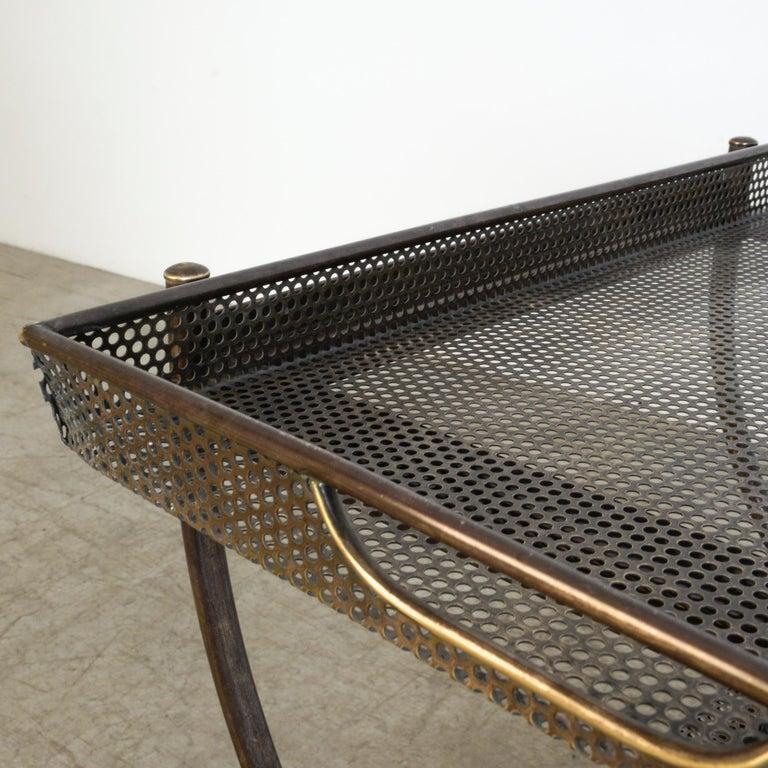 Josef Frank Brass Svenskt Tenn Tea Cart For Sale 3