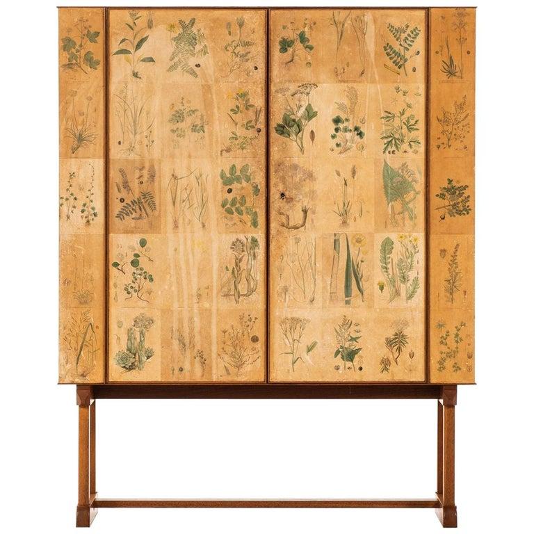 Josef Frank for Svenskt Tenn Flora cabinet, 1937, offered by Studio Schalling