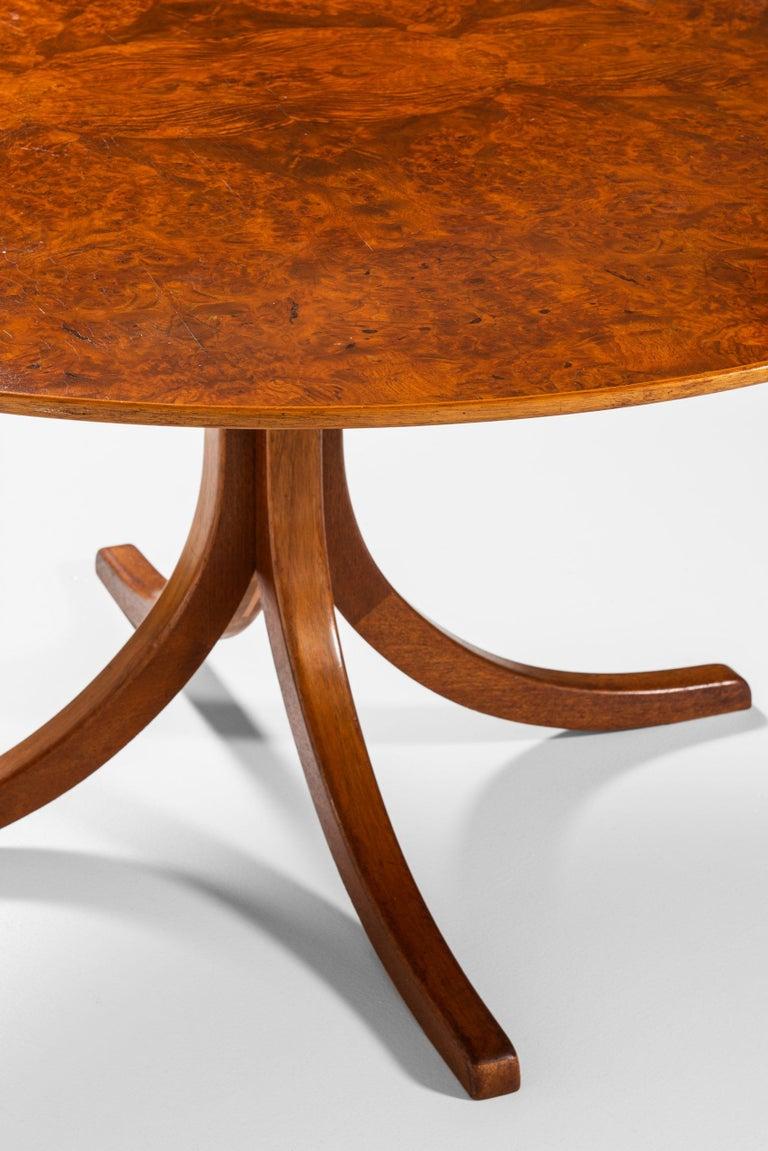 Josef Frank Dining Table Model 1020 Produced by Svenskt tenn in Sweden For Sale 1