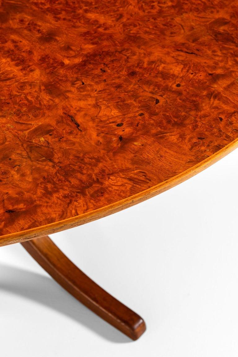 Josef Frank Dining Table Model 1020 Produced by Svenskt tenn in Sweden For Sale 2