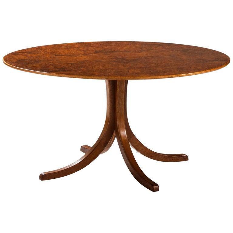 Josef Frank Dining Table Model 1020 Produced by Svenskt tenn in Sweden For Sale