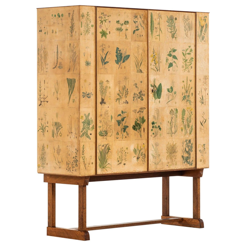 Josef Frank Early Flora Cabinet Model 852 by Svenskt Tenn in Sweden