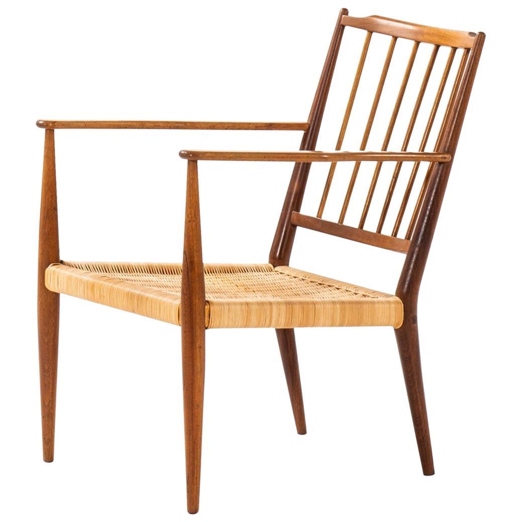 Josef Frank Easy Chair Model 508 Produced by Svenskt Tenn in Sweden