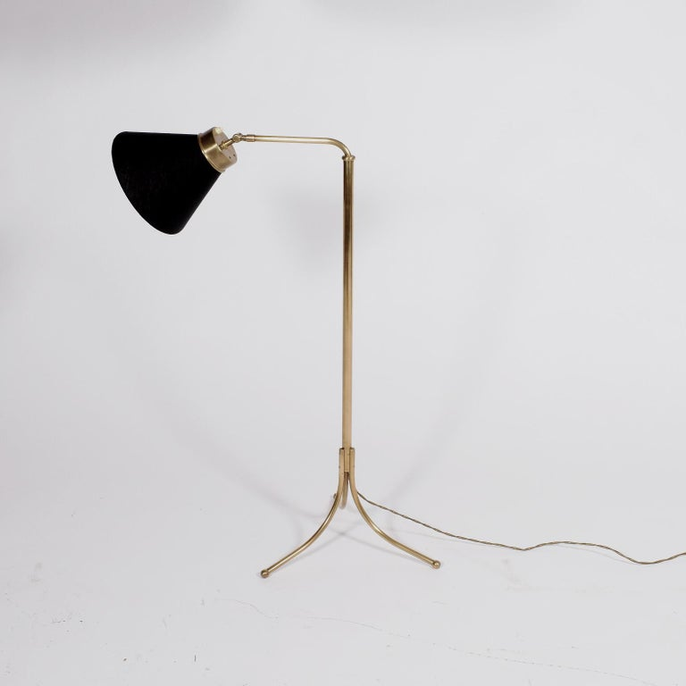 Scandinavian Modern Josef Frank Floor Lamp Model 1842 for Svensk Teen For Sale