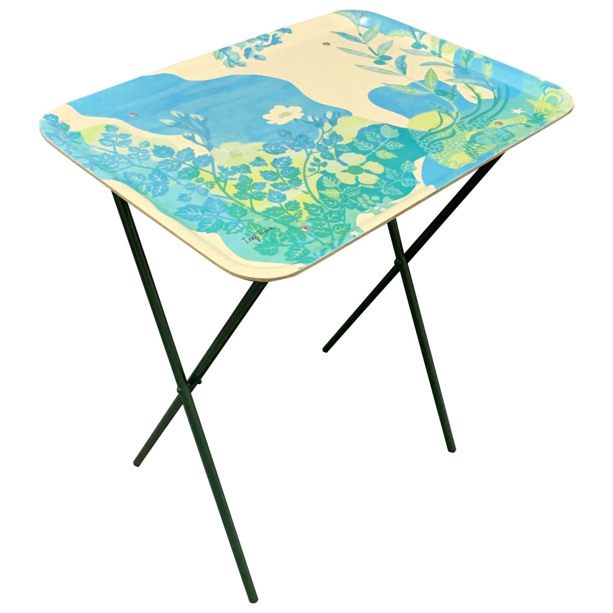 Josef Frank Folding Bar Cart or Side Table by Svensk Tenn