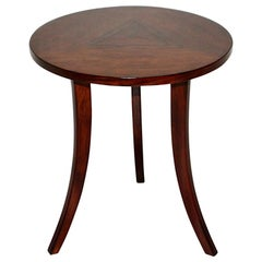 Josef Frank for Haus and Garten Art Deco Vintage Walnut Side Table, 1925, Vienna