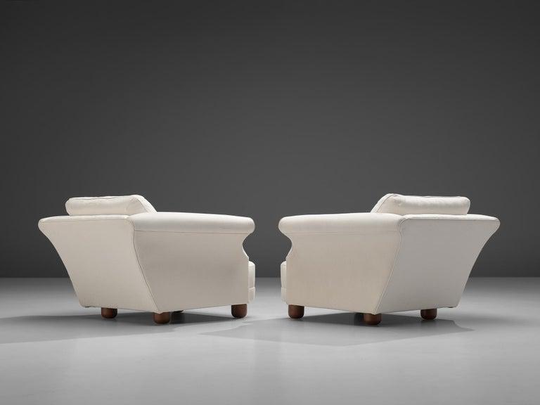 Swedish Josef Frank forSvenskt Tenn Pair of 'Liljevalchs' Lounge Chairs For Sale