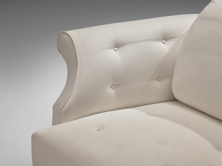 Josef Frank forSvenskt Tenn Pair of 'Liljevalchs' Lounge Chairs In Good Condition For Sale In Waalwijk, NL