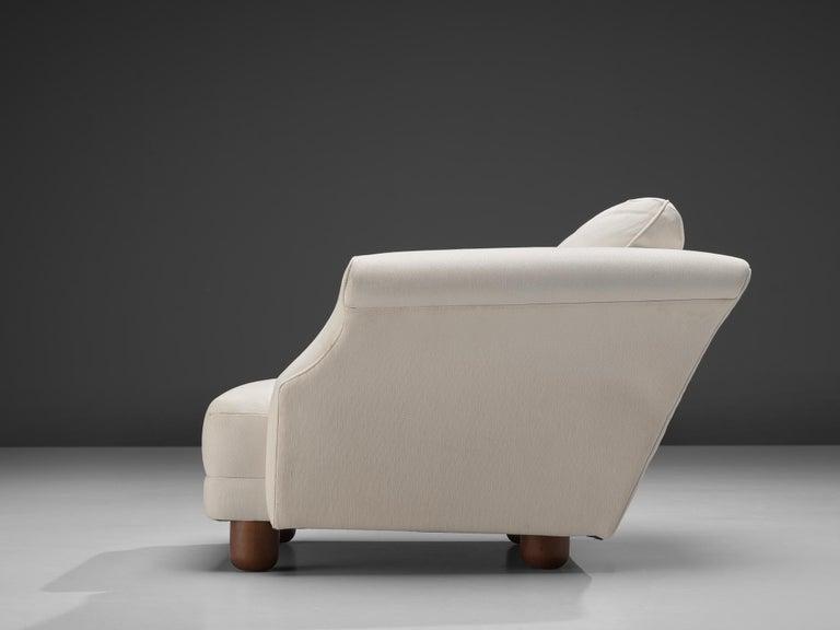 Mid-20th Century Josef Frank forSvenskt Tenn Pair of 'Liljevalchs' Lounge Chairs For Sale