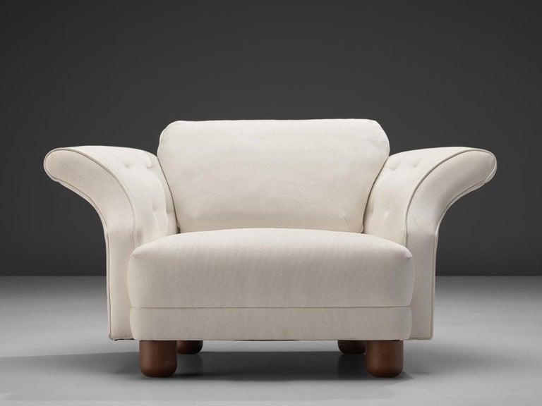Josef Frank forSvenskt Tenn Pair of 'Liljevalchs' Lounge Chairs For Sale 2