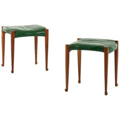 Josef Frank Stools Model 973 Produced by Svenskt Tenn in Sweden