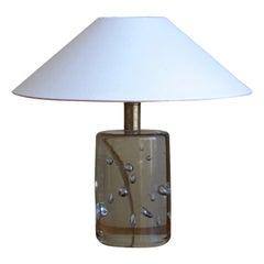 Josef Frank, Table Lamp, Blown Glass, Brass, Svenskt Tenn, Sweden, 1950s