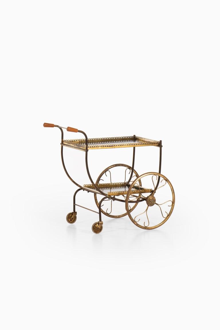 Scandinavian Modern Josef Frank Trolley Produced by Svenskt Tenn in Sweden For Sale