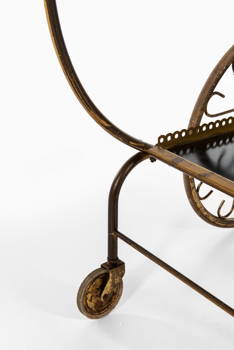 Swedish Josef Frank Trolley Produced by Svenskt Tenn in Sweden For Sale