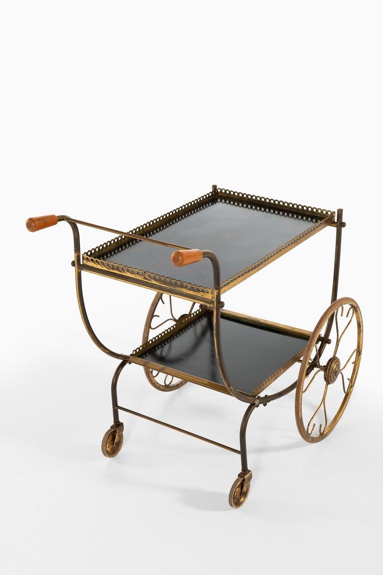 Mid-20th Century Josef Frank Trolley Produced by Svenskt Tenn in Sweden For Sale