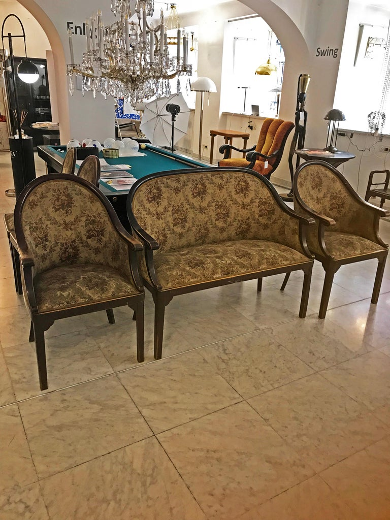Josef Hoffmann and Jacob & Josef Kohn Ensemble 5 Pieces In Good Condition For Sale In Vienna, AT
