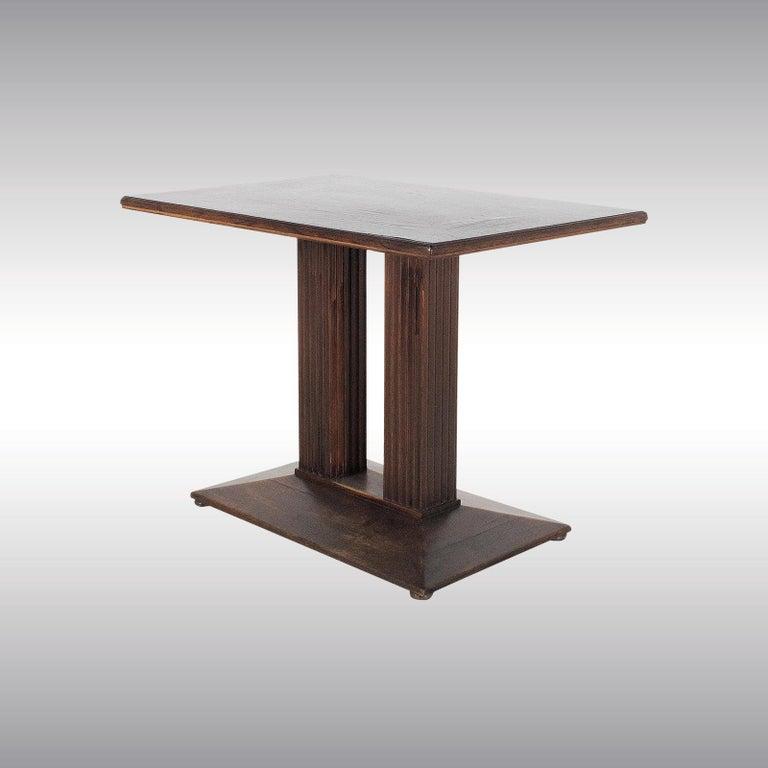 Austrian Josef Hoffmann attr. Coffee-Table Secession Style, Wiener Werkstaette, Original For Sale