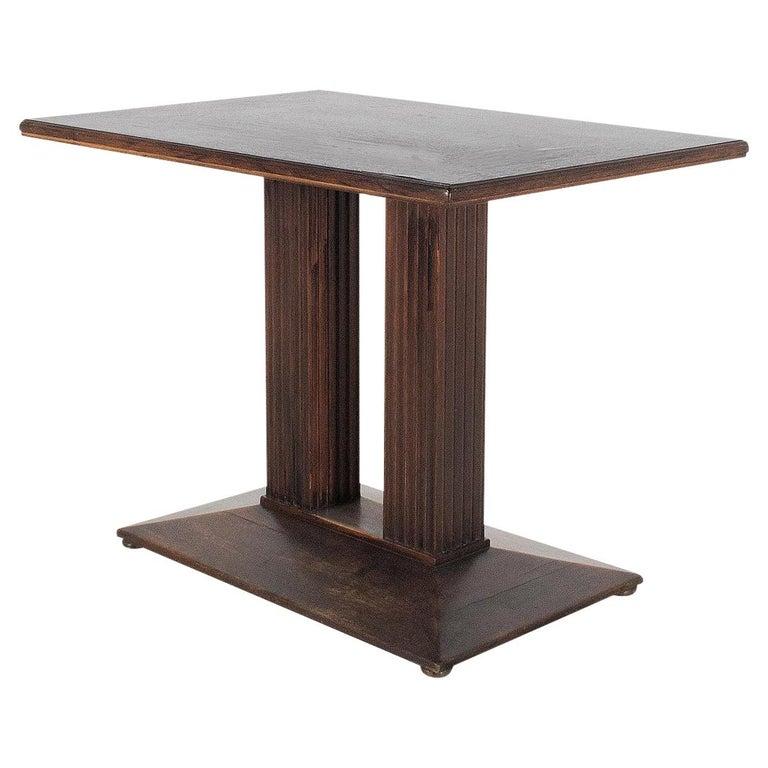 Josef Hoffmann attr. Coffee-Table Secession Style, Wiener Werkstaette, Original For Sale