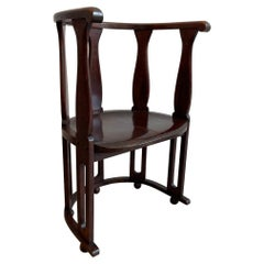 Josef Hoffmann Attri. Secessionist Bentwood Accent Chair