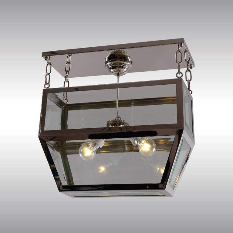 Jugendstil Josef Hoffmann Attributed Pendant Chandelier by Woka, Vienna For Sale