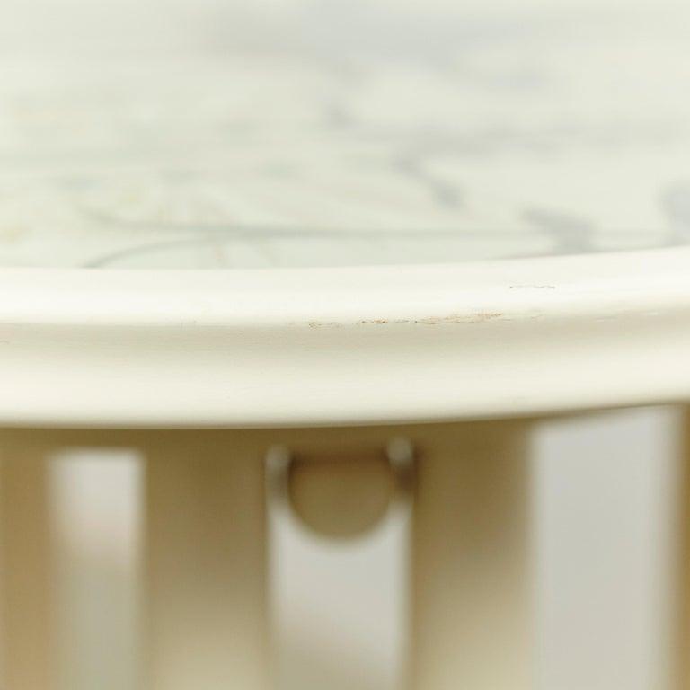 Josef Hoffmann Cabaret Fledermaus White Table For Sale 4