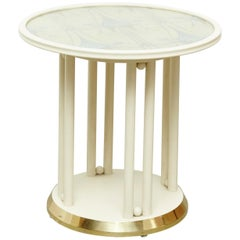 Josef Hoffmann Cabaret Fledermaus White Table