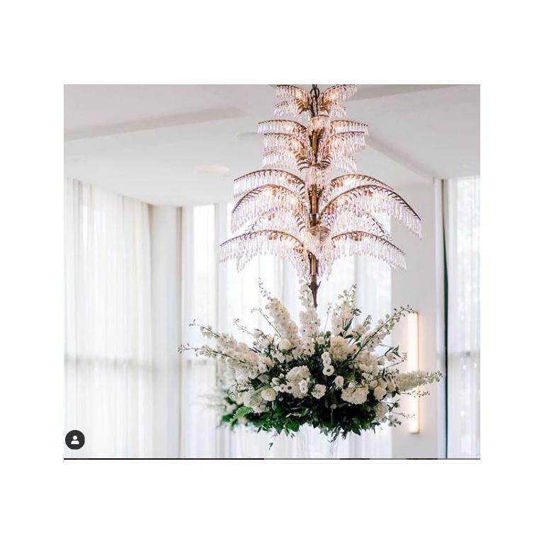 Brass Josef Hoffmann Ceiling Lamp