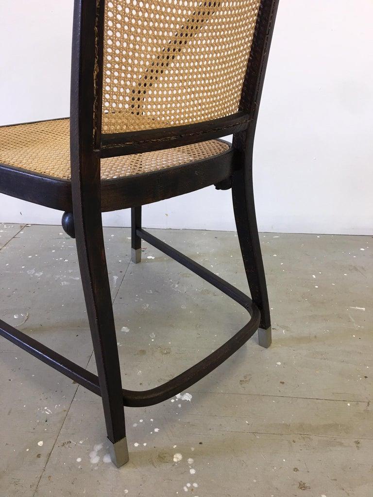 Josef Hoffmann Chair for Jacob and Josef Kohn Furniture For Sale 3