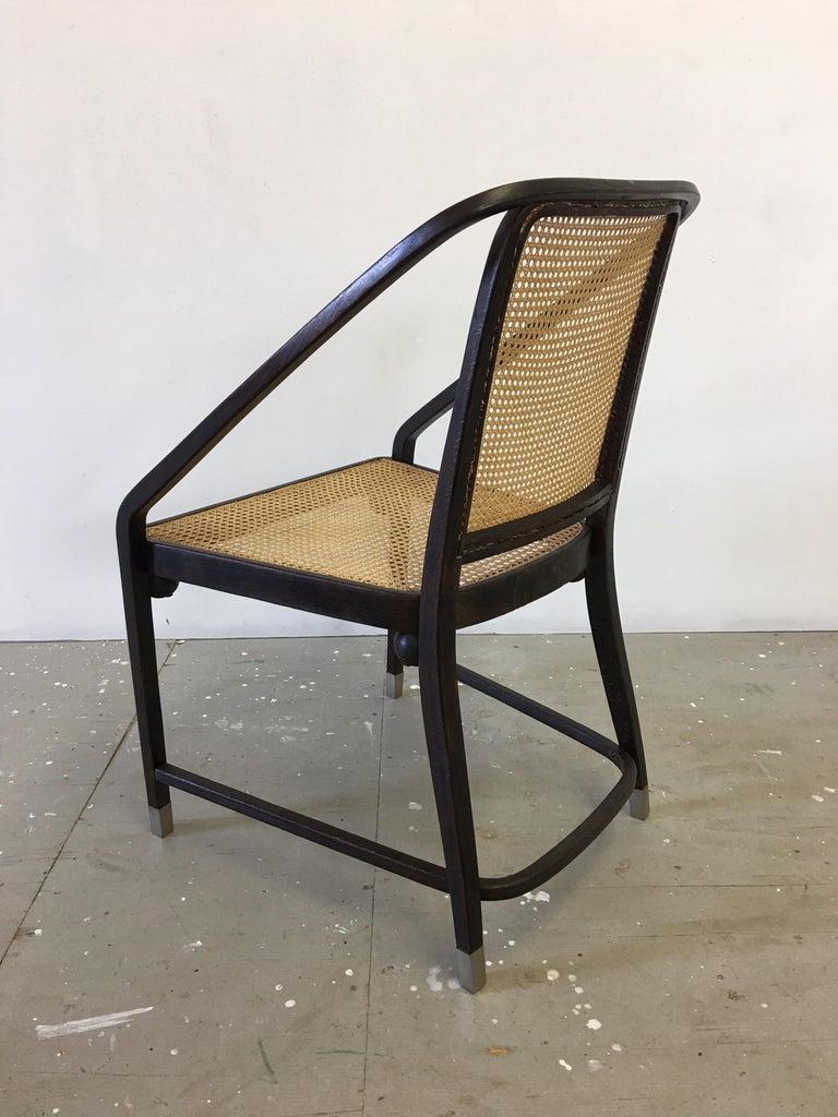 Austrian Josef Hoffmann Chair for Jacob and Josef Kohn Furniture For Sale
