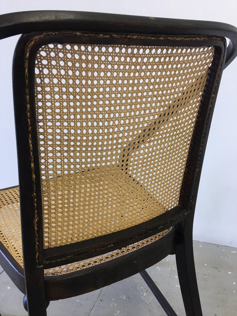 Early 20th Century Josef Hoffmann Chair for Jacob and Josef Kohn Furniture For Sale